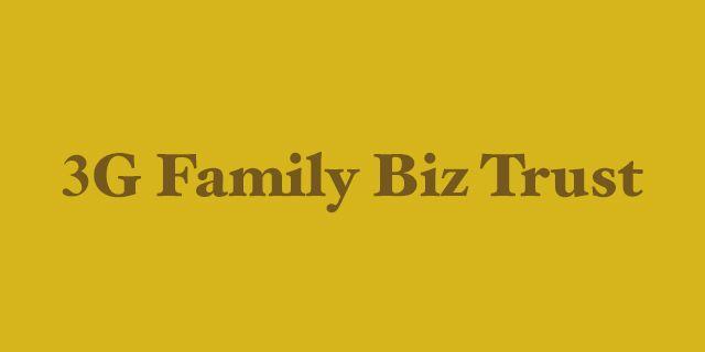Rockwills 3G Family Biz Trust